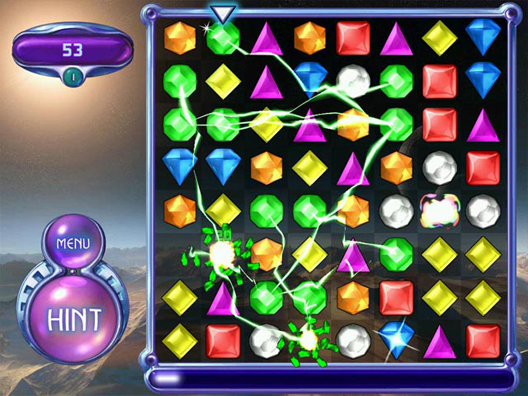 ������� ������ Portable Bejeweled