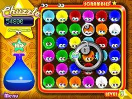 משחקים להורדה-Chuzzle-כדורים שעירים